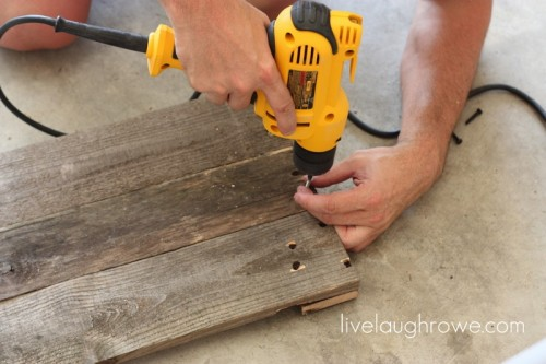 Diy Pallet Tray For Serving Food Outdoors