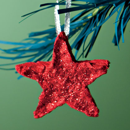 Homemade Paper Stars (via familyfun)