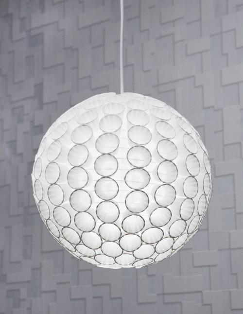 DIY Paper Cup Pendant Light
