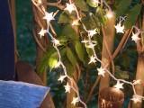 Diy Paper Foil Starry Lights For Outdoors