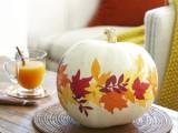 Diy Paper Leaves Pumpkin Decoupage
