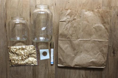 Diy Paper Mache Polka Dots Vases