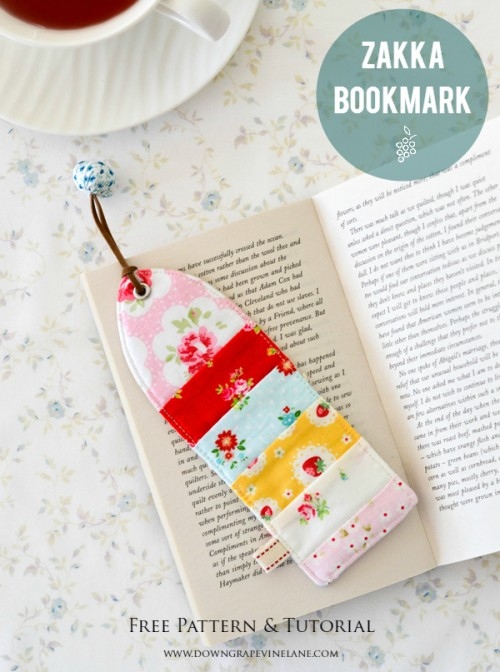 patchwork bookmark (via downgrapevinelane)