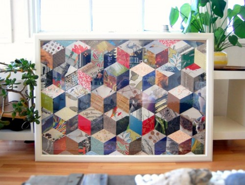 9 DIY Patchwork Art Projects For Home Décor