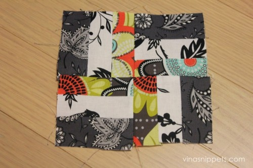 simple patchwork coasters (via vinasnippets)