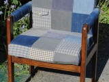 beginner patchwork chair upholstery