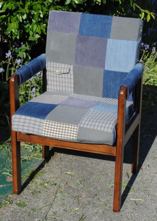 beginner patchwork chair upholstery (via https:)