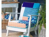 making a patchwork chair