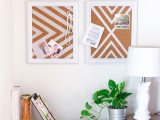 diy-patterned-cork-boards-for-pinning-your-stuff-1