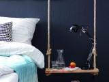 Diy Pendant Bedside Table Of Wood