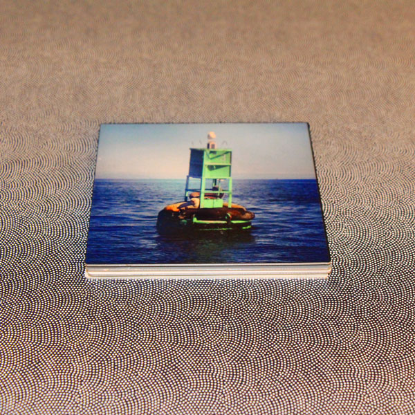 metal photo coasters