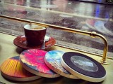 Instagram beverage coasters