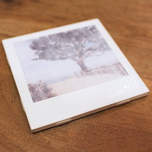 polaroid coasters (via blog)