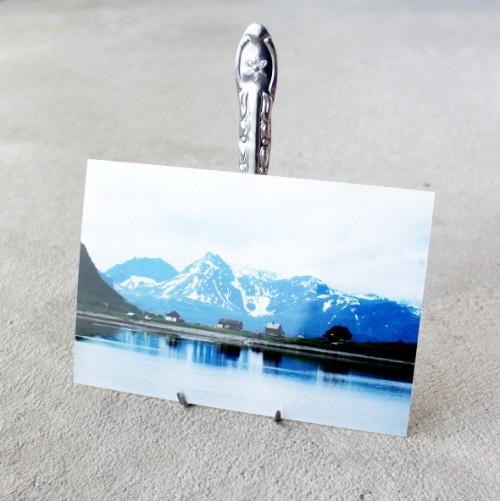 fork photo display (via morningcreativity)