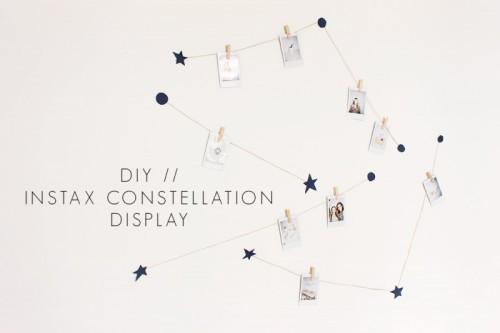 constellation photo display (via vanillacraftblog)