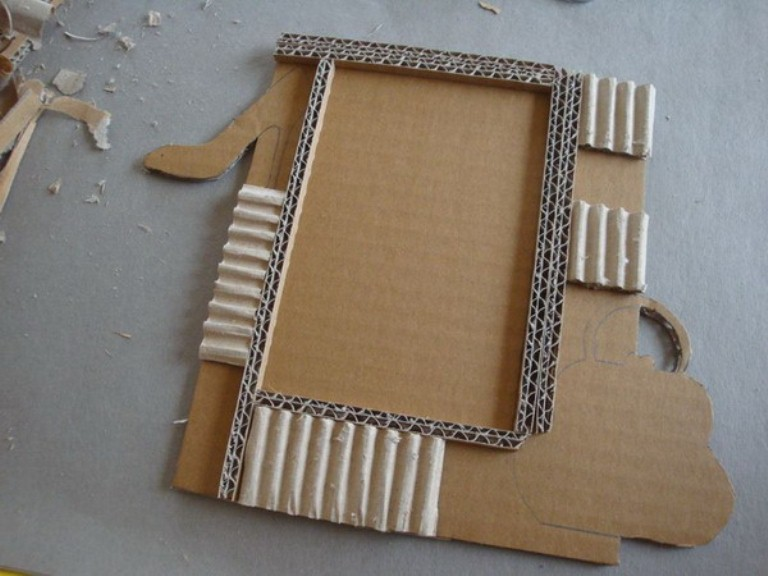 Picture Of Diy Photo Frame For Your Daughter