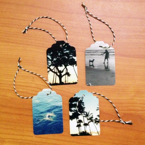8 DIY Photo Gift Tags For Any Occasion