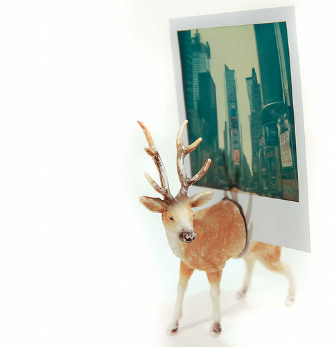 Diy Photo Holder Made Of A Toy