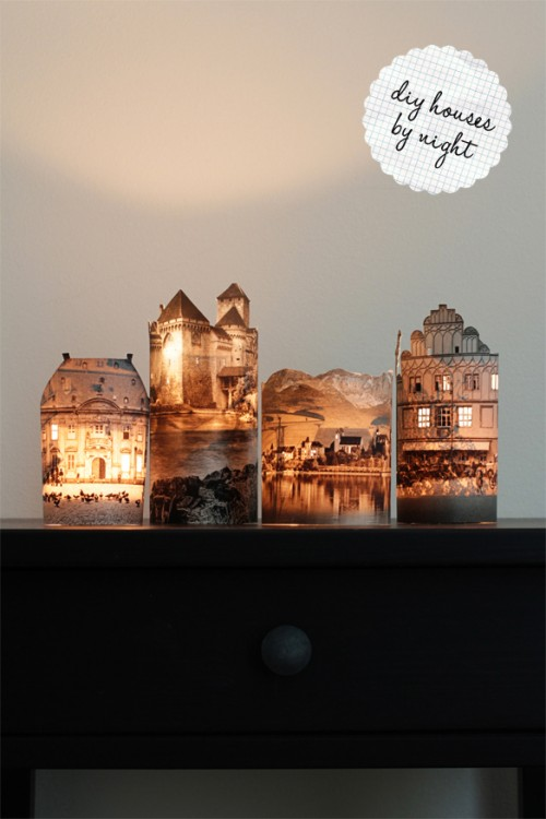 Diy Photo Lamps