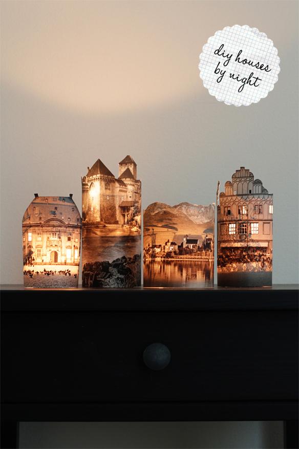 Diy Photo Lamps