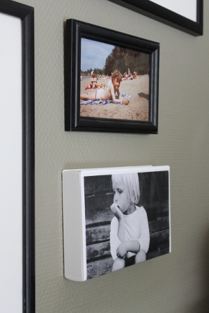 DIY Photo Frame With Built-In Hidden Storage
