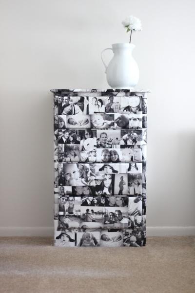 DIY Family Photography Dresser