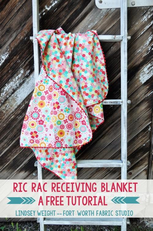 ric rac blanket (via fortworthfabricstudio)