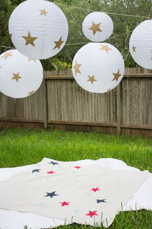 patriotic star blanket (via designimprovised)