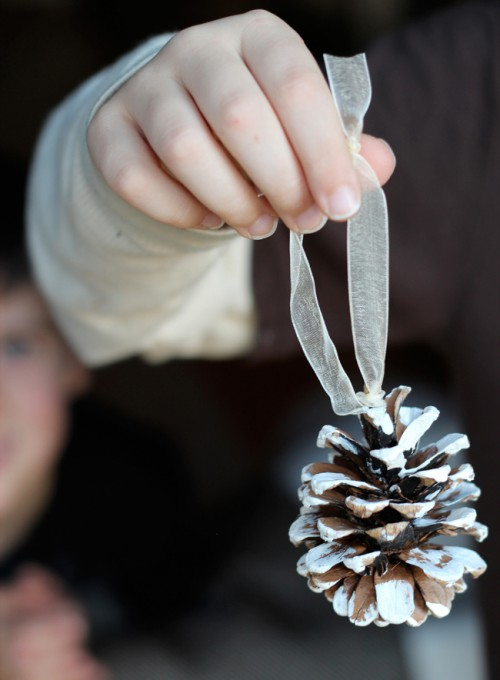 Feather Christmas Ornaments