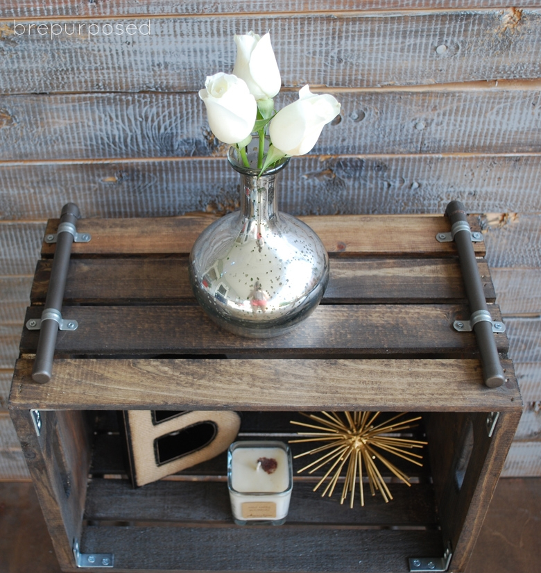 Diy Pipe And Crate Industrial Table