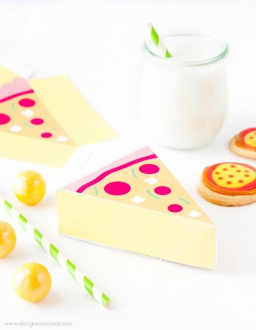 pizza printable gift boxes (via designeatrepeat)