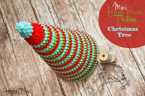 Diy Pom Pom Ribbon Christmas Tree