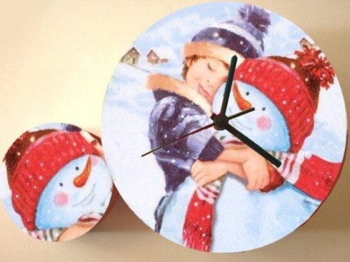 Diy Pop Art Decoupage Clock