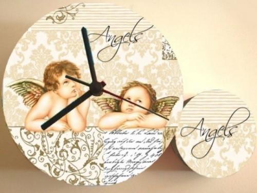 Diy Pop Art Decoupage Clock