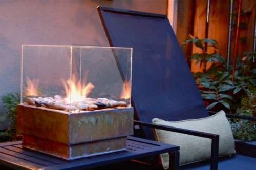 DIY Portable Outdoor Fire Pit Shelterness