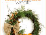 mini pumpkin wreath