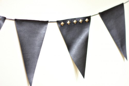Diy Punk Inspired Studded Bunting