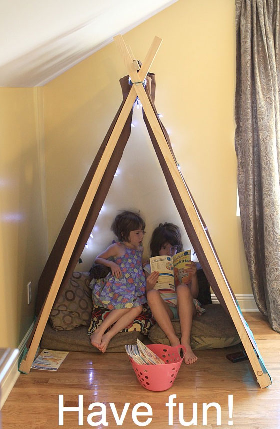 Picture Of Diy Reading Nook And Play Tent