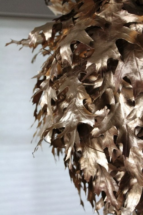 Diy Real Fallen Leaves Pattern