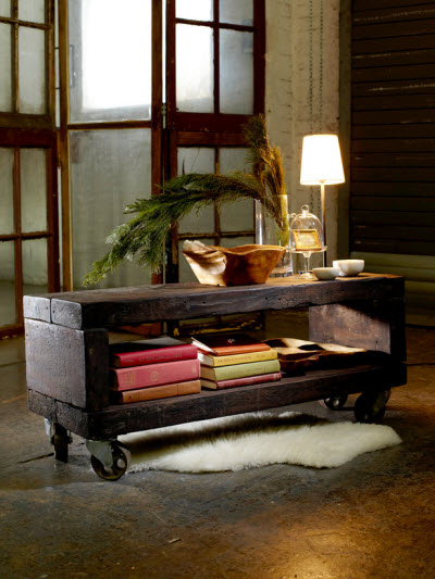 10 DIY Reclaimed Coffee Tables That Inspire