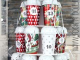 DIY Recycled Advent Calendar