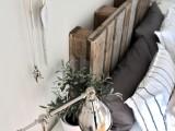 Diy Recycled Pallet Headboard