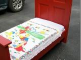 Diy Repurposed Toddler Bed