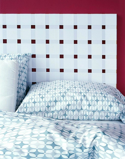 Diy Ribbon Headboard