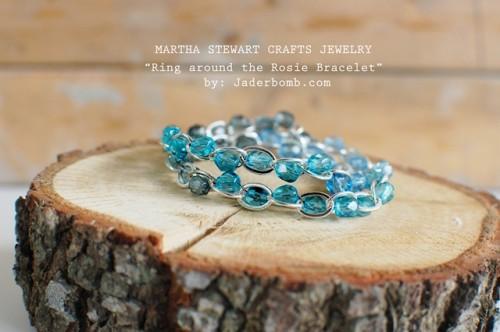 DIY Ring Around The Rosie Bracelet