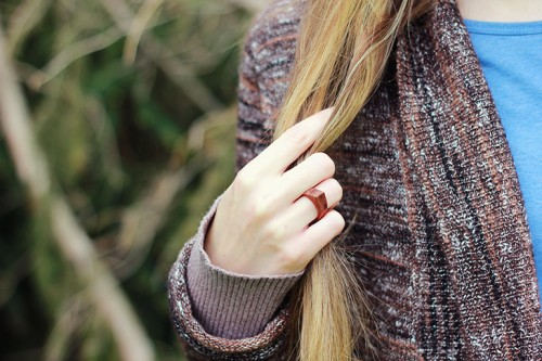 Diy Rings Of Natural Wood
