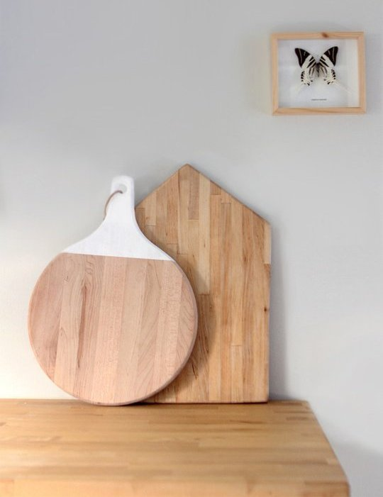 Picture of diy rooftop cutting board for Diy cutting board storage