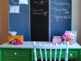 chalkboard room divider