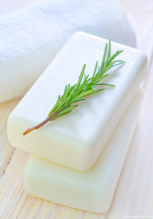 DIY Rosemary And Mint Goat Milk Soap