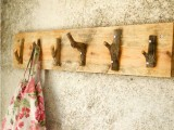 Diy Rough Looking Coat Rack